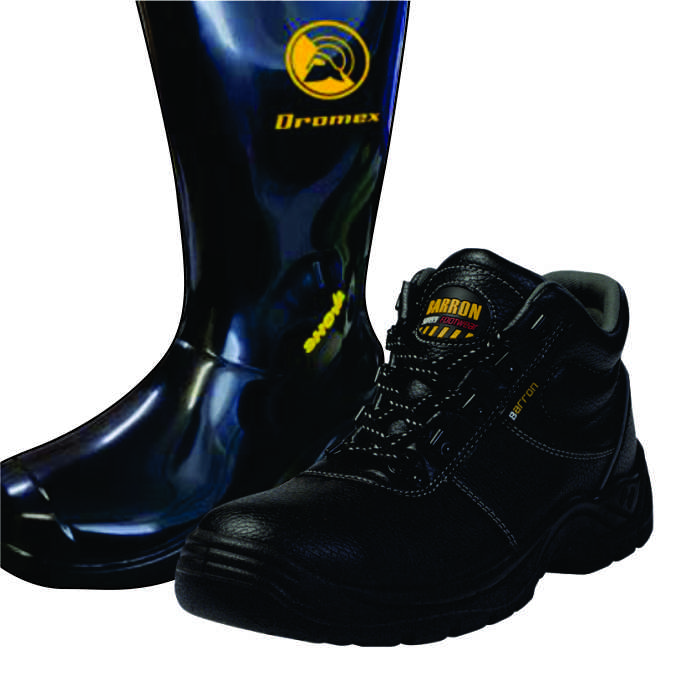 Safety Boots, Safety Shoes & GumBoots