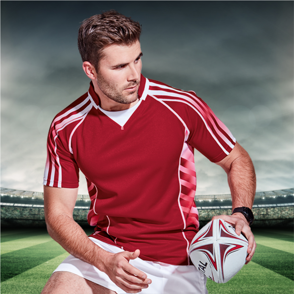In Stock: Rugby Jerseys and Shorts
