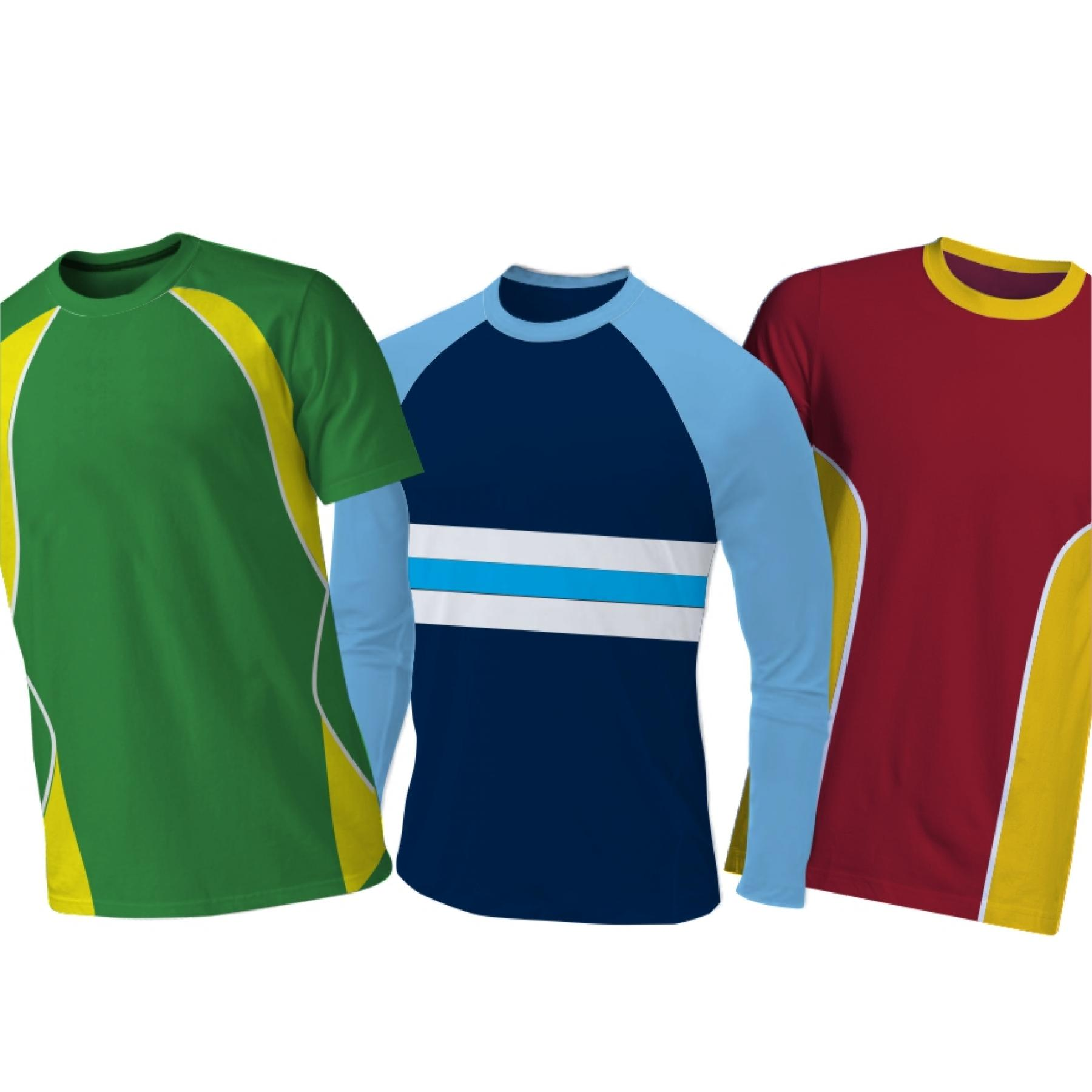 T-shirts Panelled