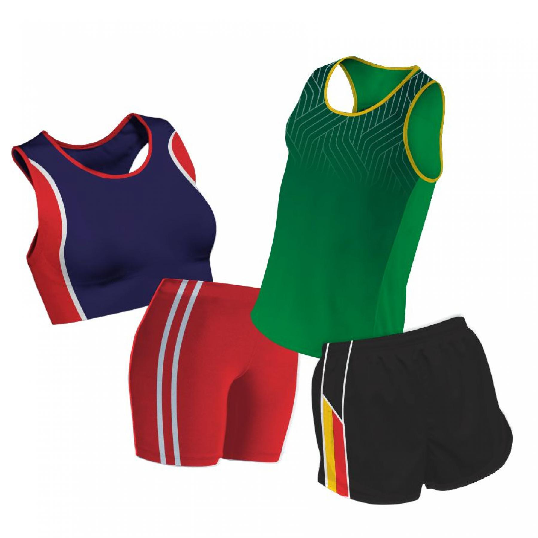 Custom made: Athletics Vests & Shorts