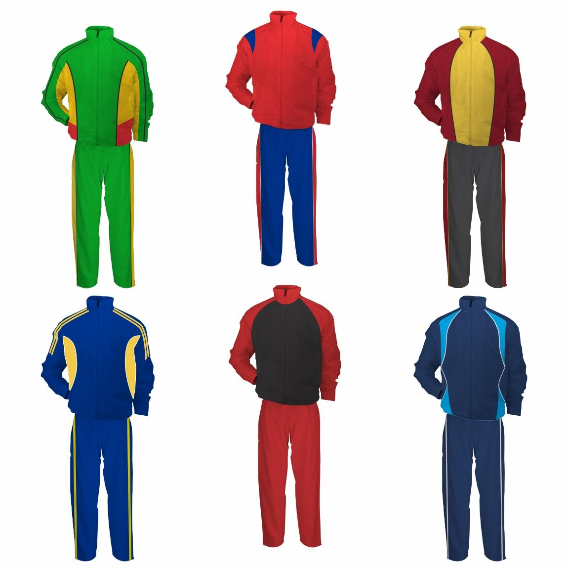 Panelled Tracksuits