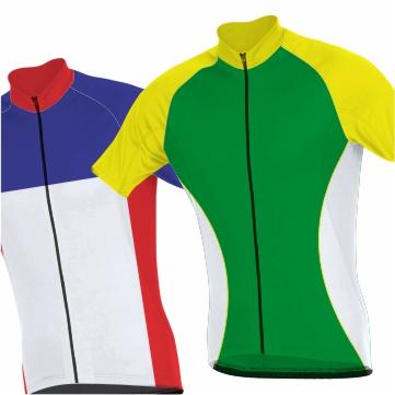 Cycling Panelled Clothing
