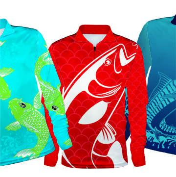 Fishing Sublimated Clothing
