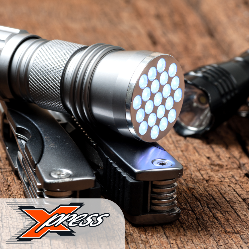 XCO Express Tools, Torches & Knives