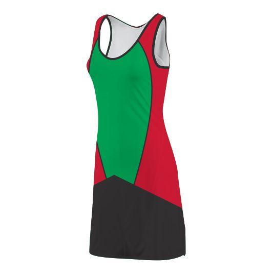 Panelled Zuco dress - Drake