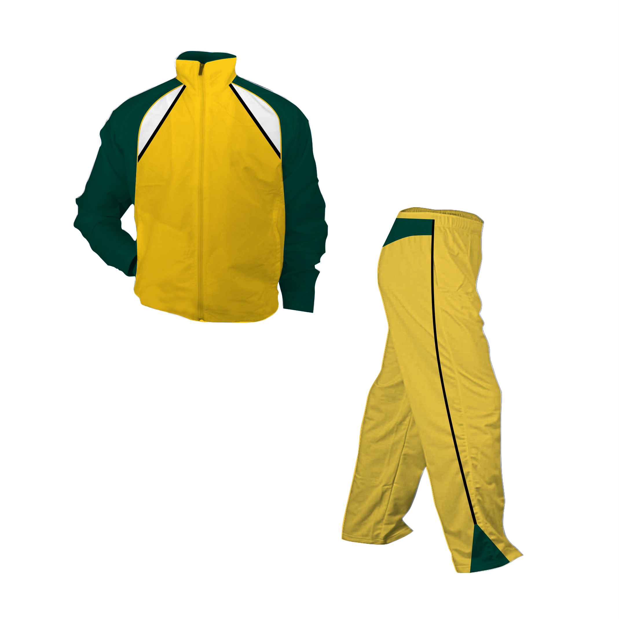 Panelled Zuco tracksuit - Mick