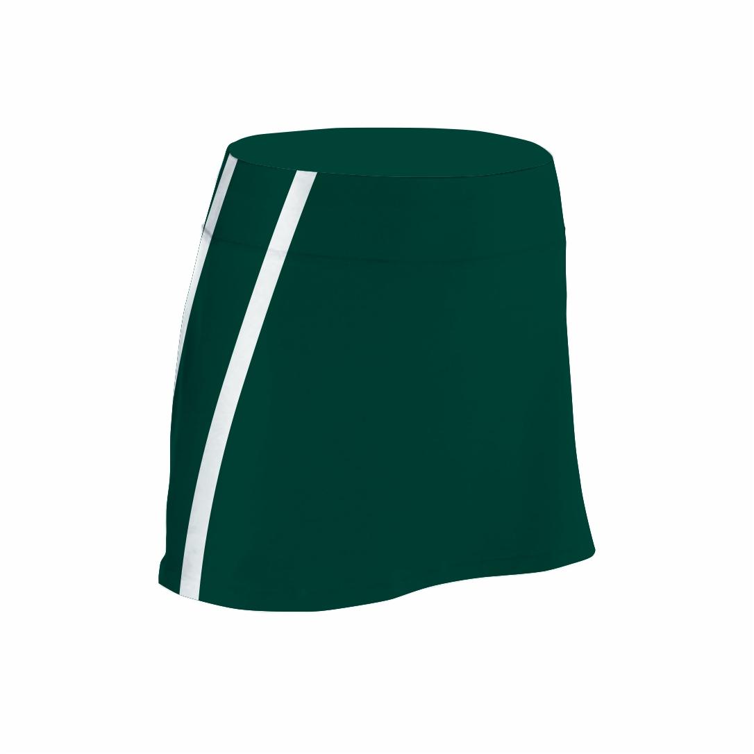 Panelled Zuco hockey skirt - strip