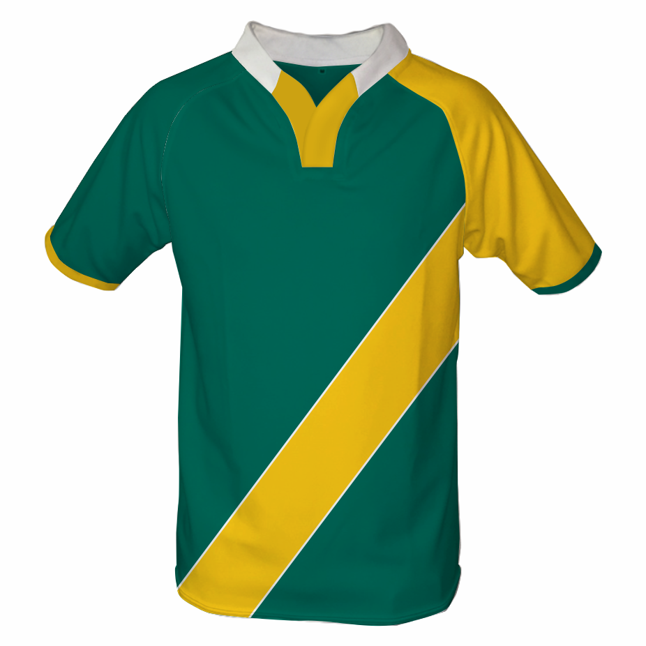 Panelled Zuco Rugby Jersey - Elton