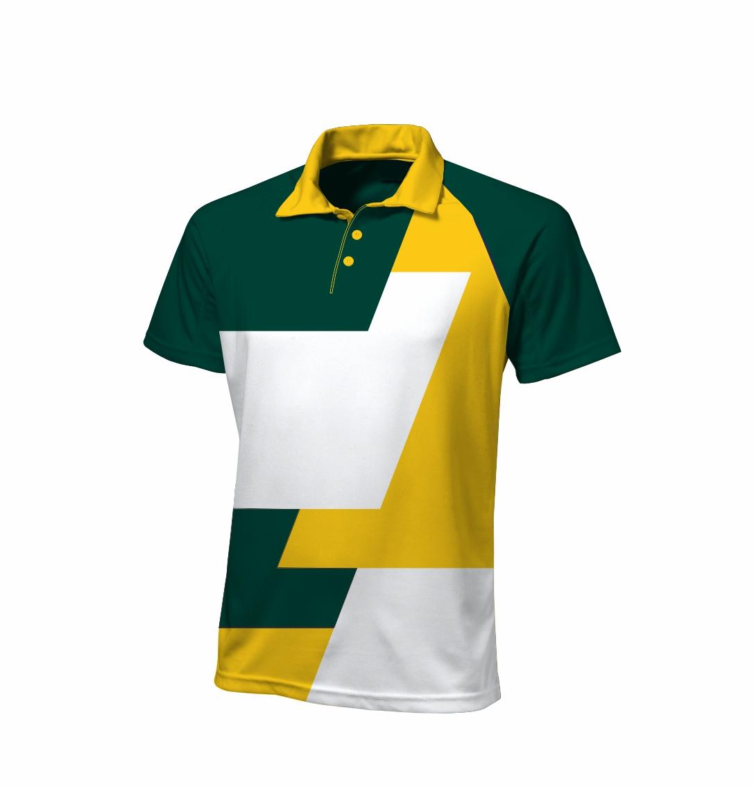 Sublimated Zuco golfer - De Stijl