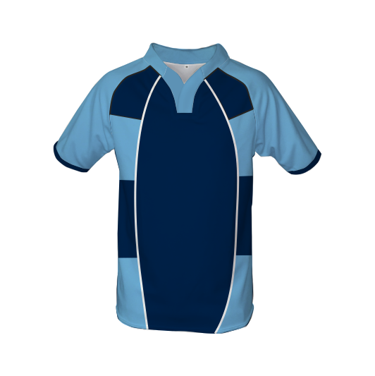 Panelled Zuco Rugby Jersey - Elsunet