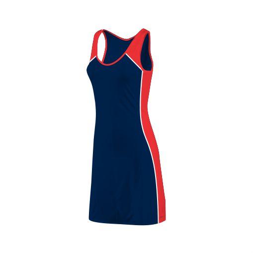 Panelled Zuco netball dress - Nisha