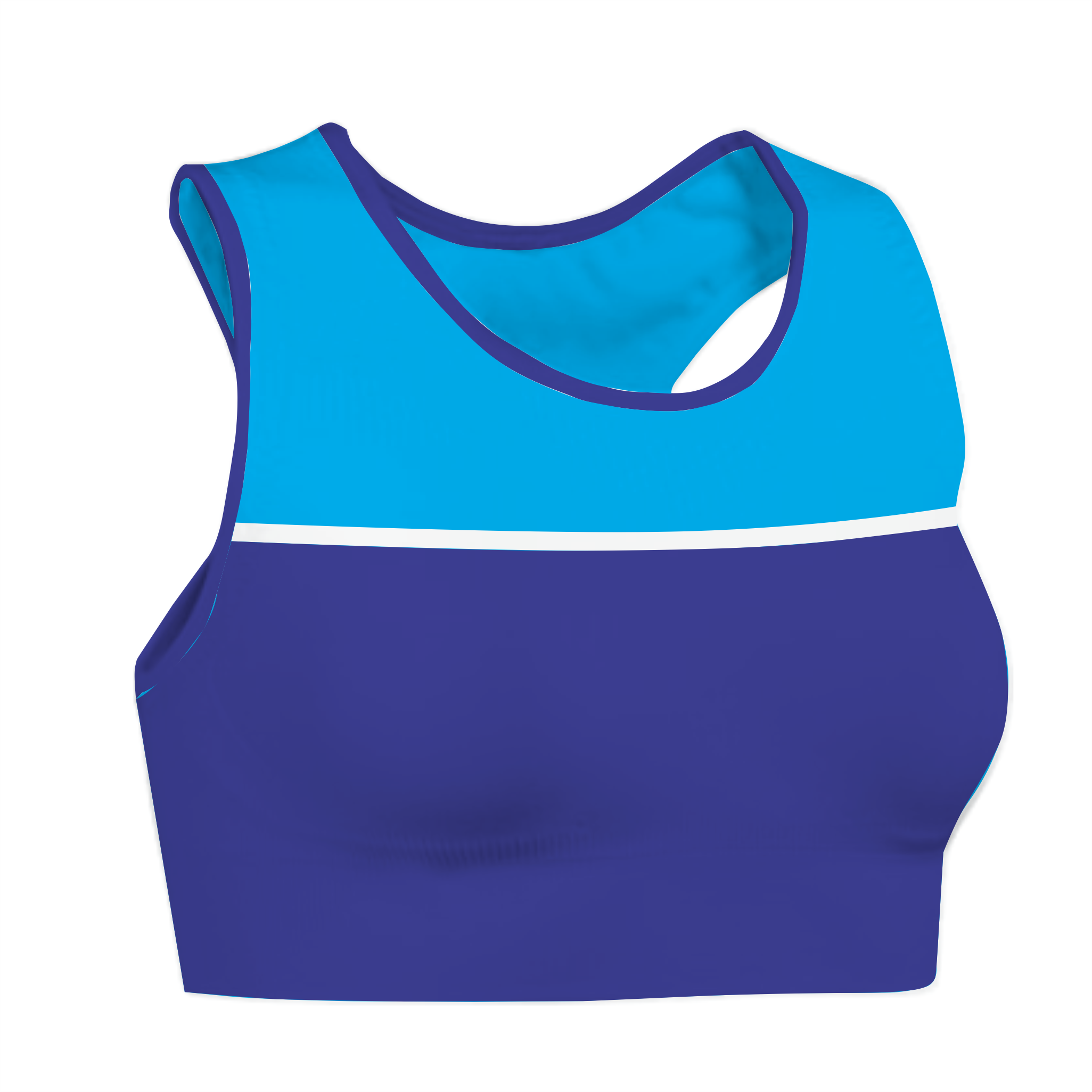 Panelled Zuco crop Top - Tero