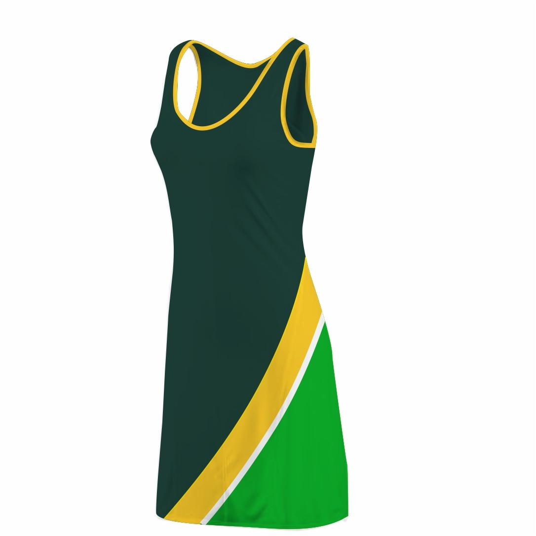 Panelled Zuco dress - Tsakane