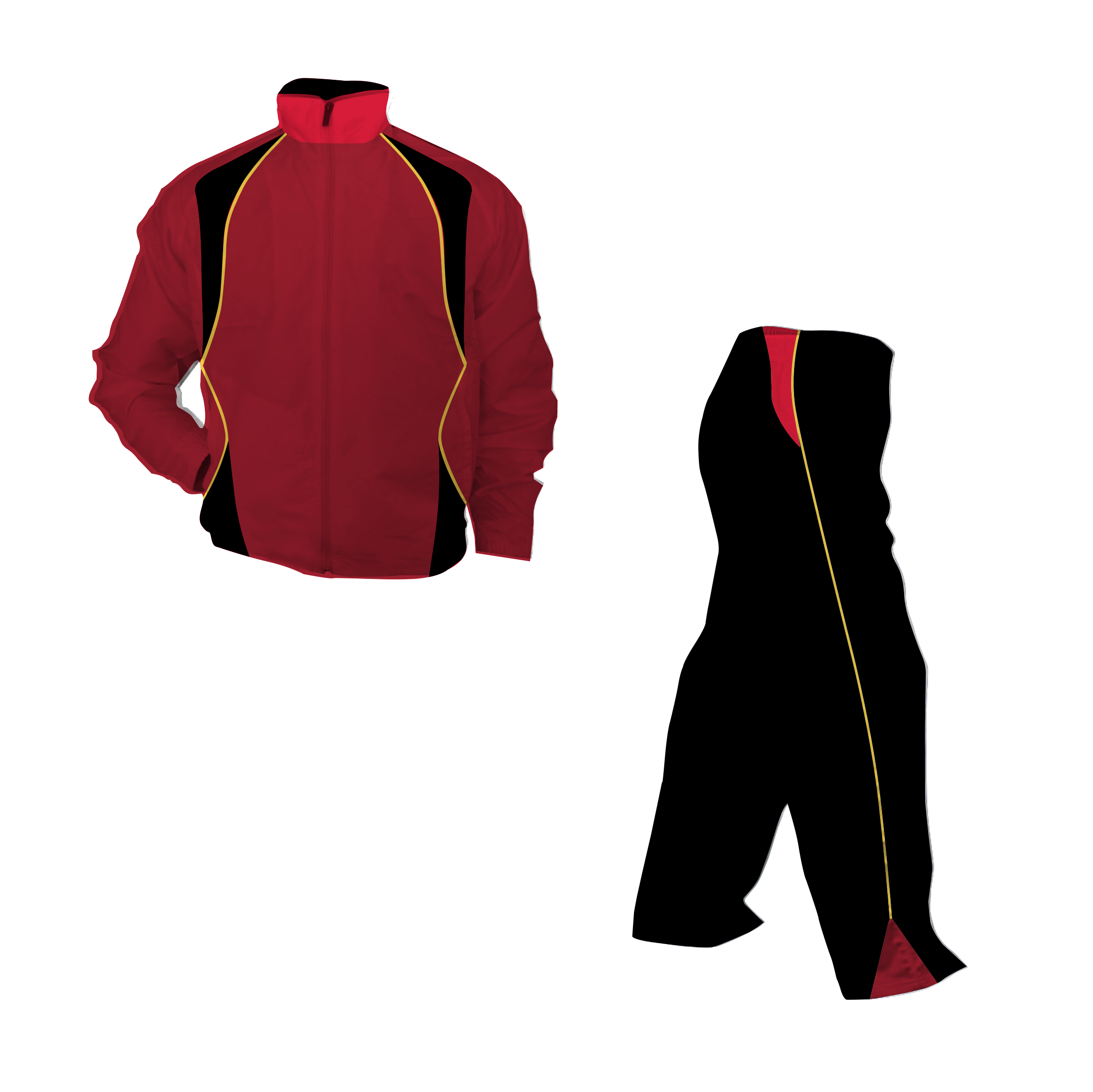 Panelled Zuco tracksuit - Rick