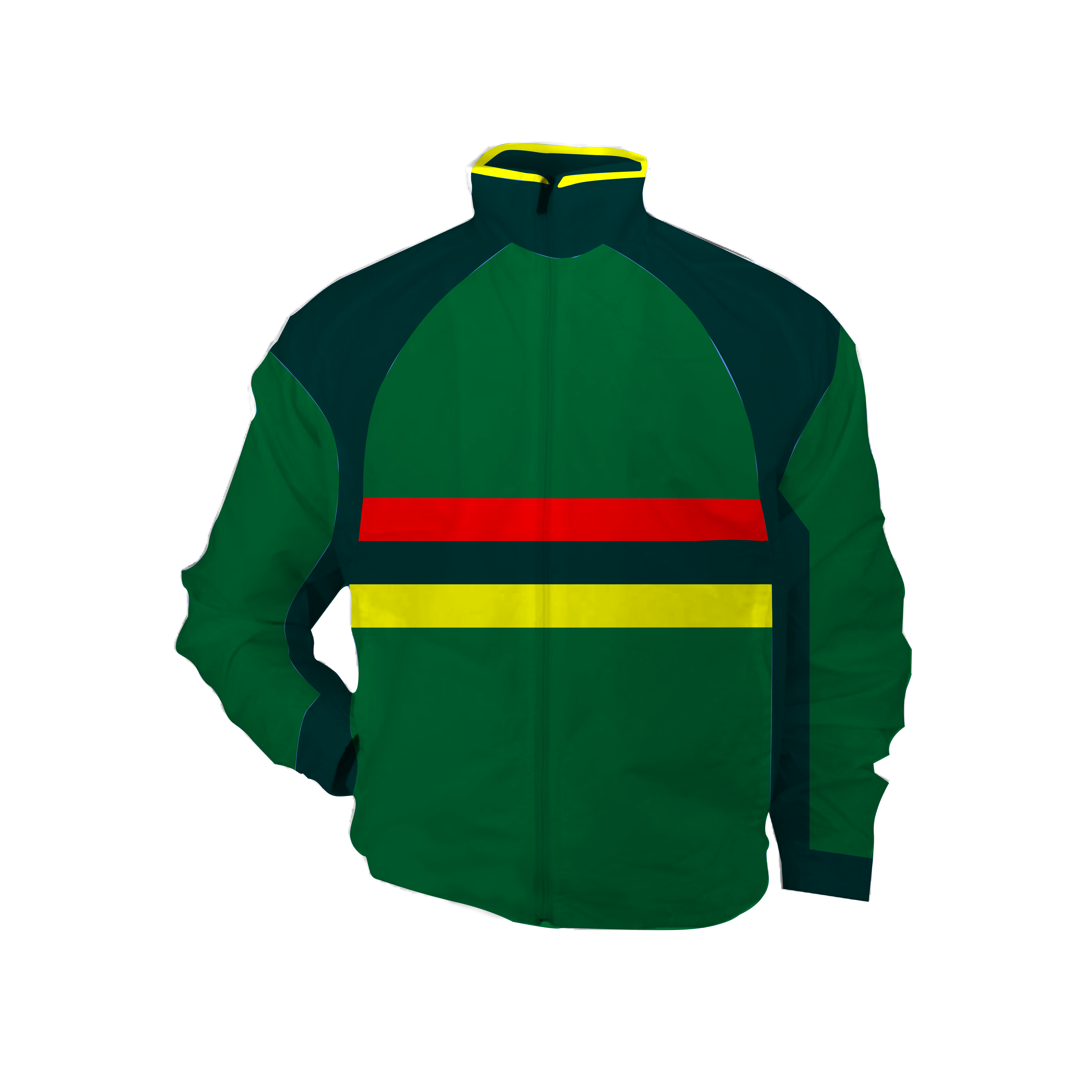 Panelled - bench jacket - Sean