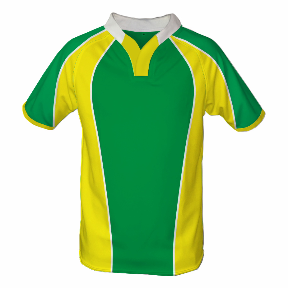 Panelled Zuco Rugby Jersey - Patrick