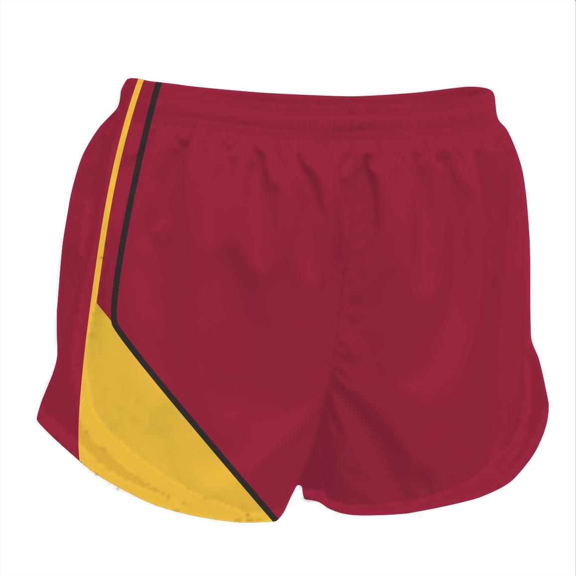 Panelled Zuco running shorts - Haile