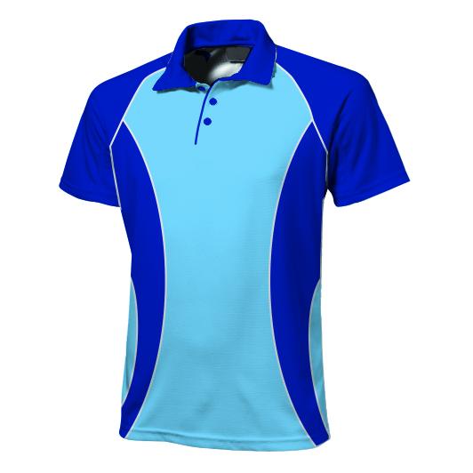 Panelled Zuco golfer - Allan
