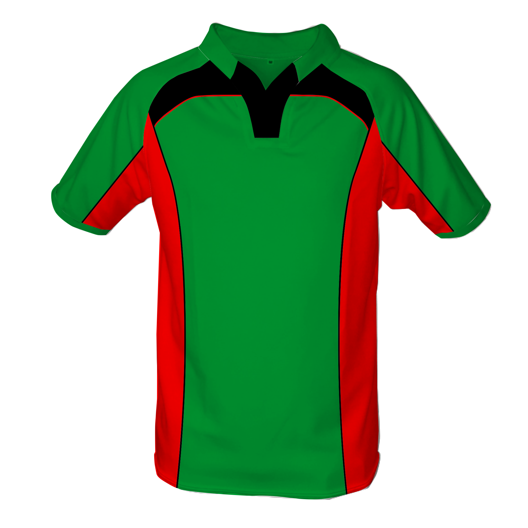 Panelled Zuco Rugby Jersey - Morne