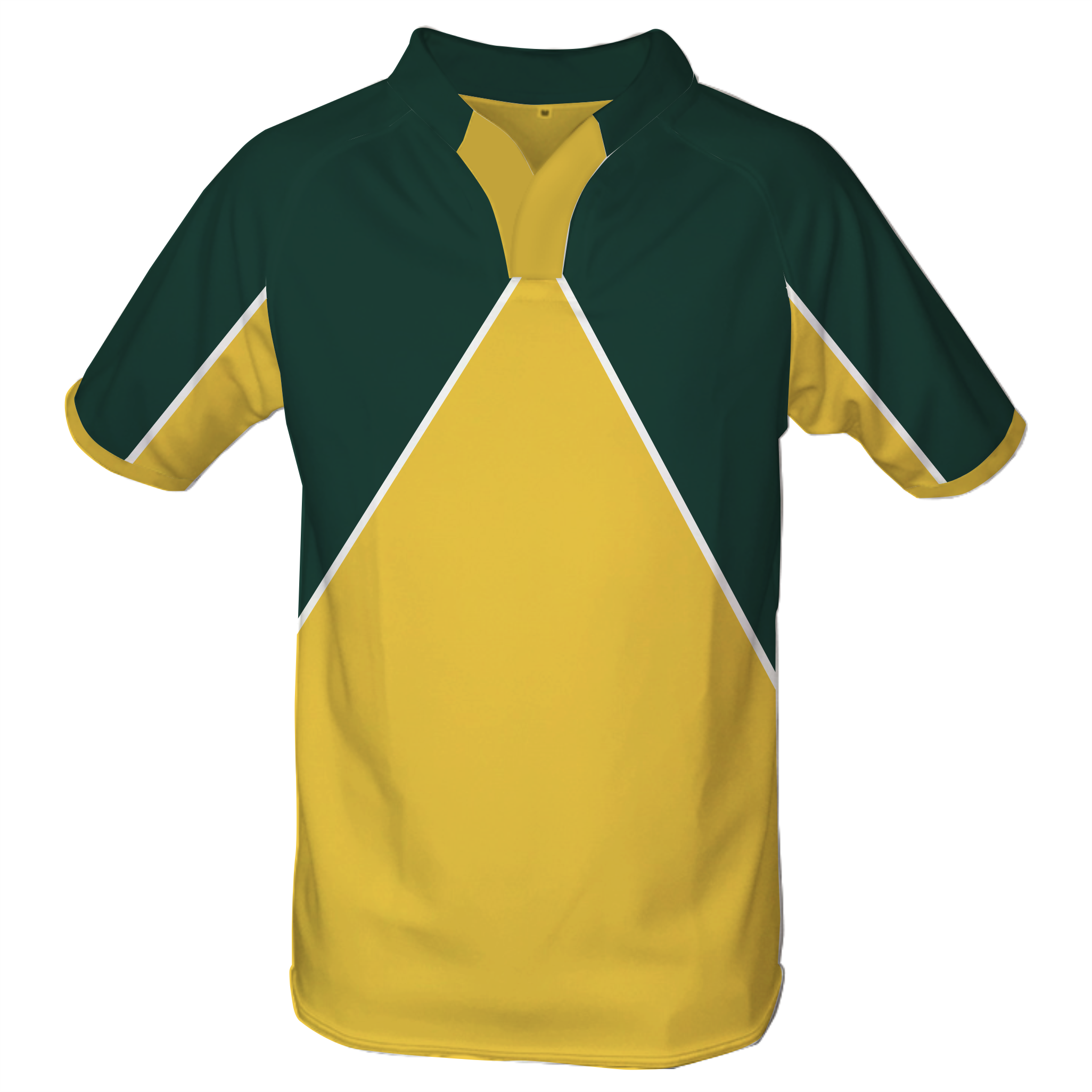 Panelled Zuco Rugby Jersey - Pierre