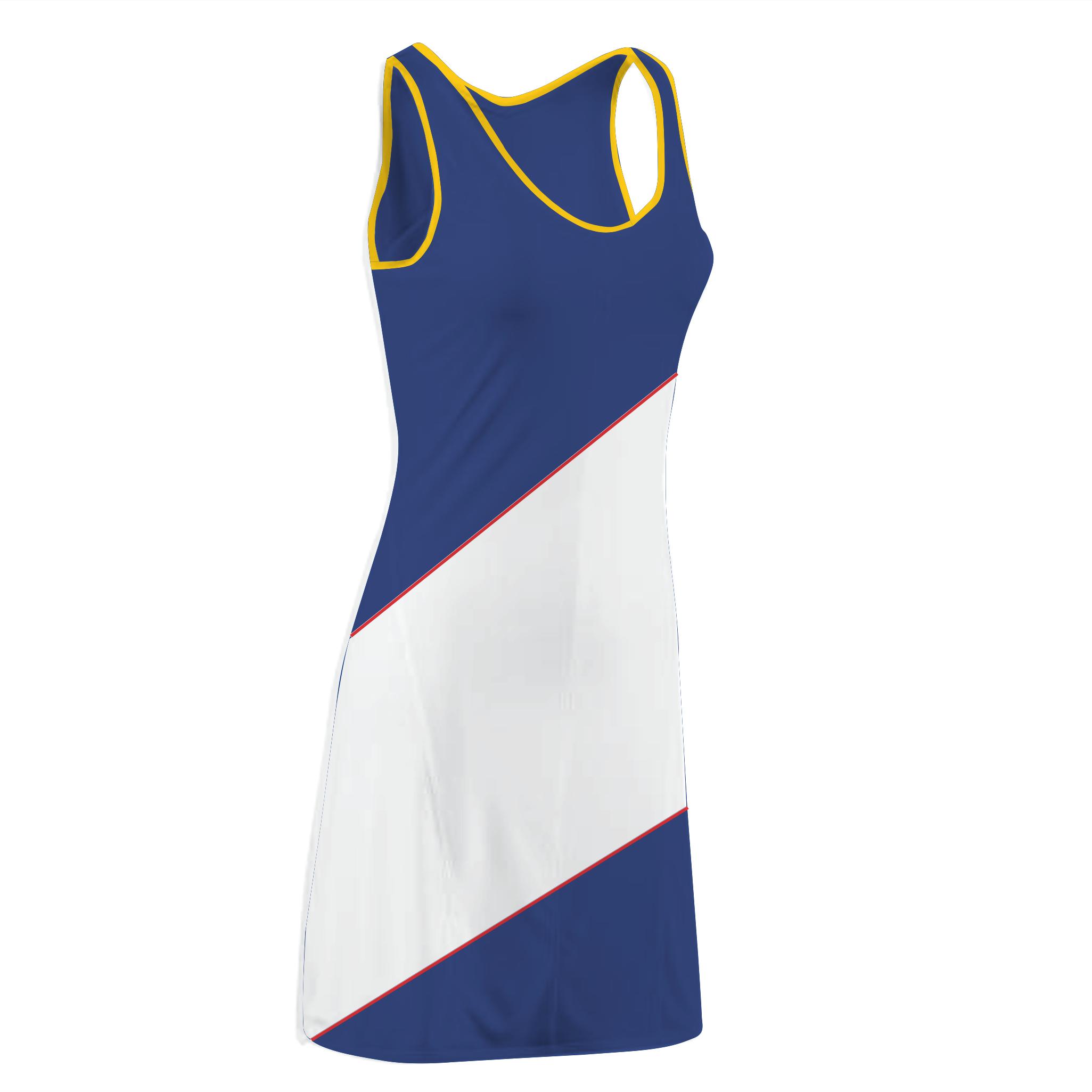 Panelled Zuco dress - Amanda