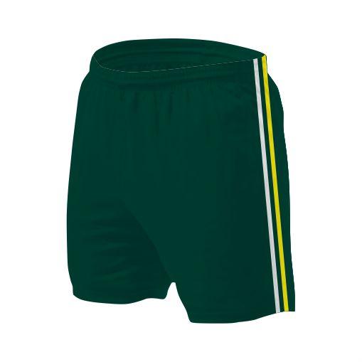 Panelled Zuco shorts - Tina
