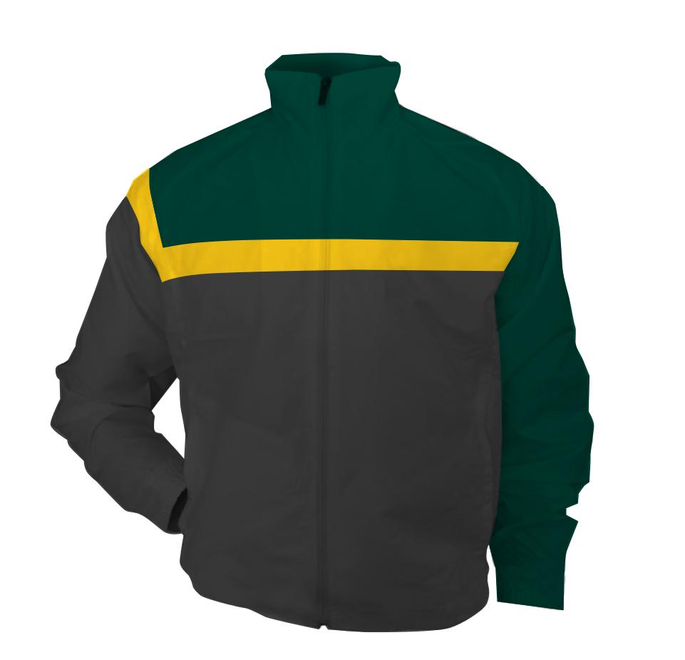 Panelled - bench jacket - Leo