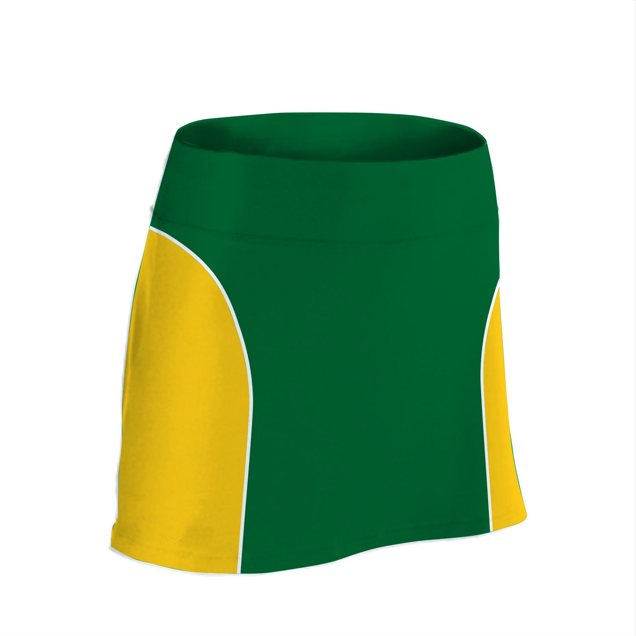 Panelled Zuco netball skirt - Bolt