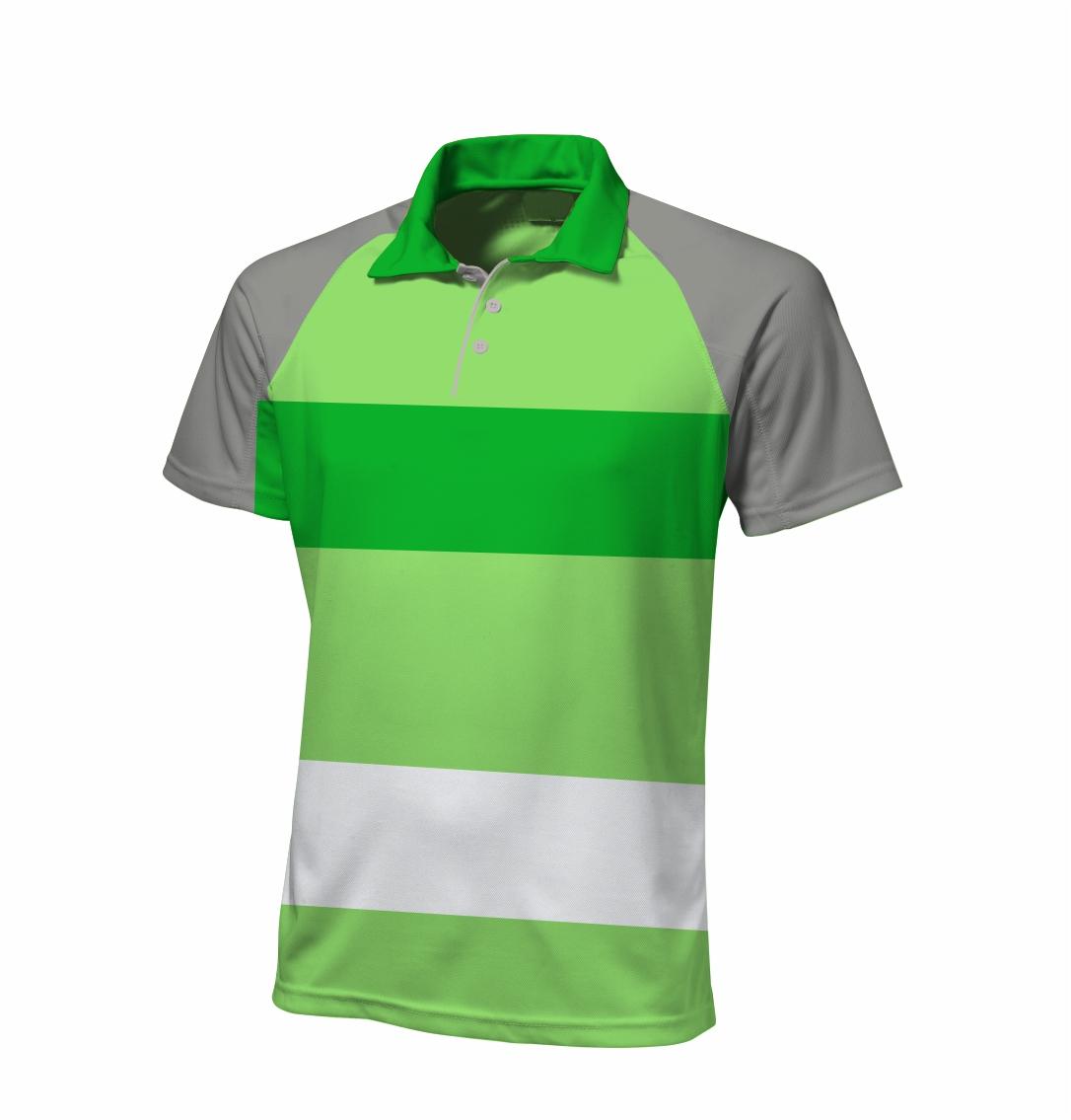 Sublimated - Zuco golfer Shirt - Malibu