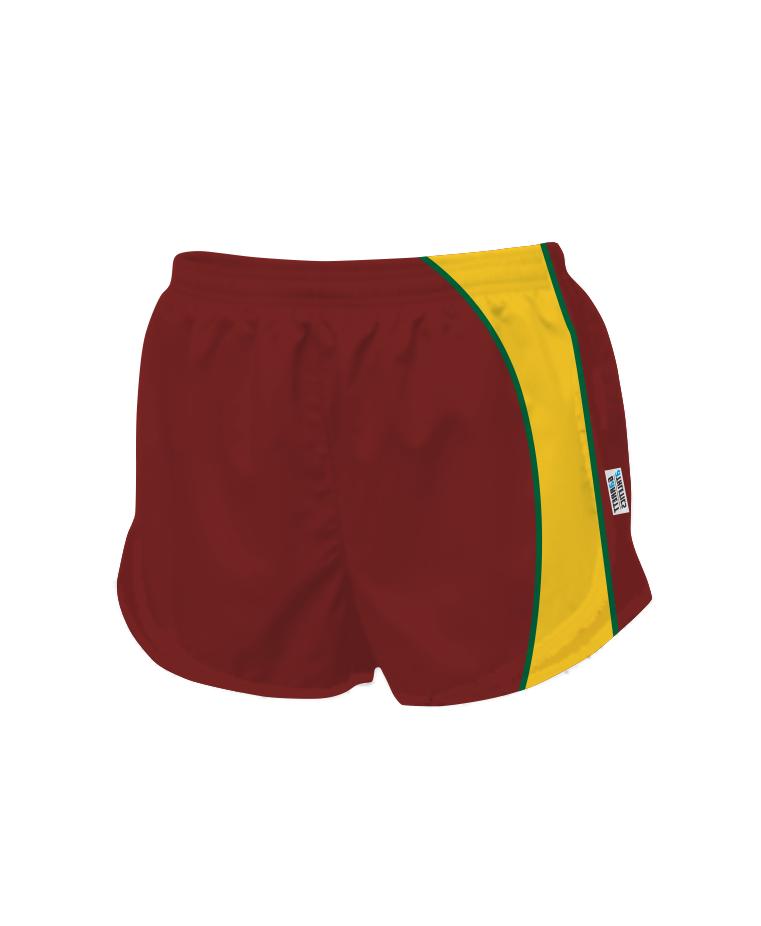 Panelled Zuco running shorts - Brooke