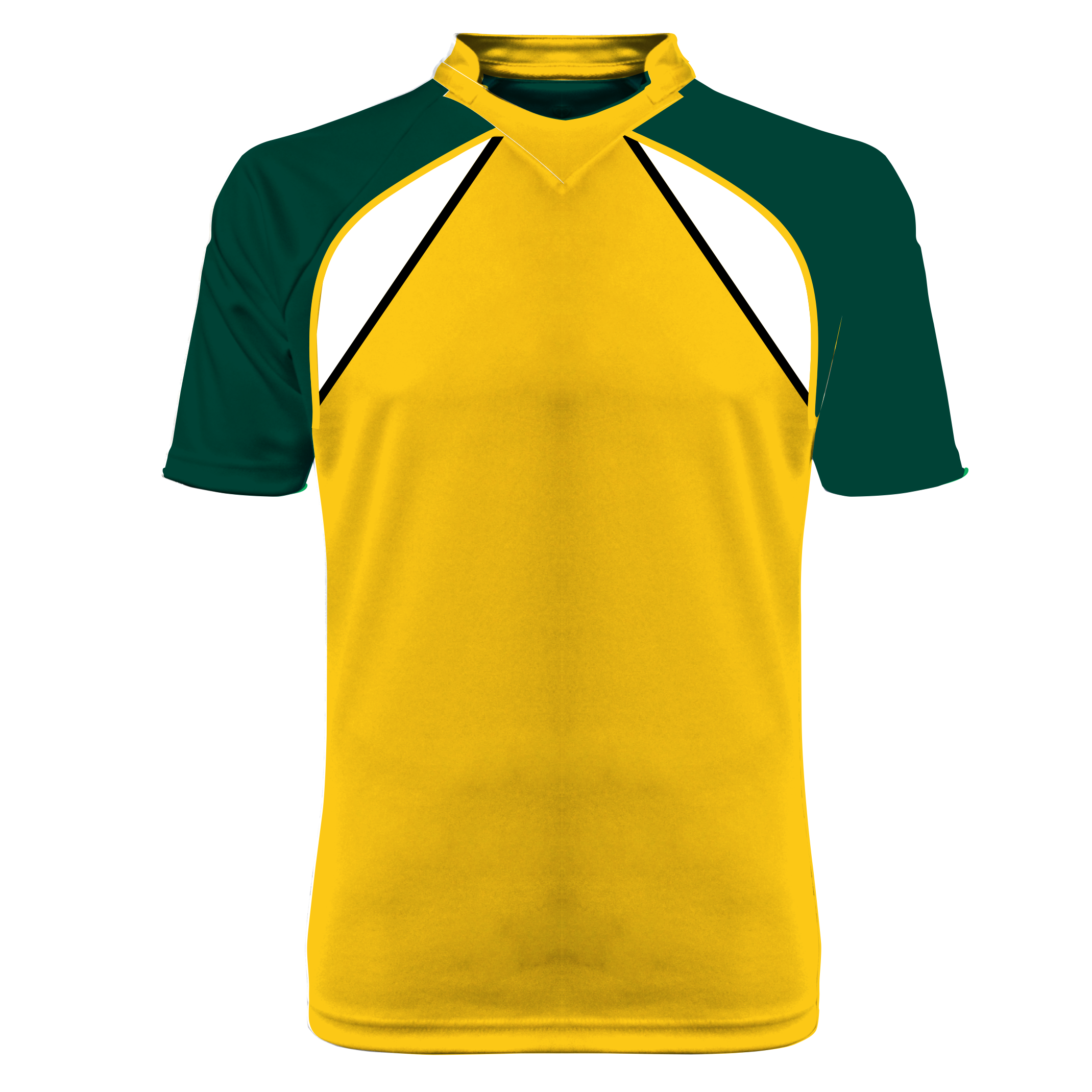 Panelled Zuco football shirt - Mick