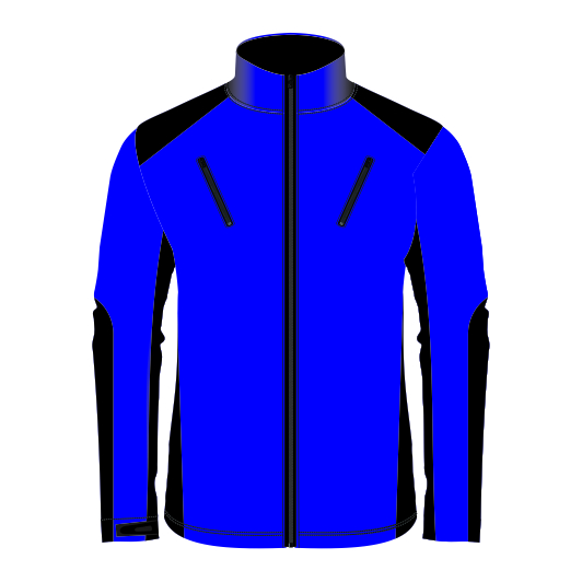 Panelled Zuco softshell jacket - Cascade