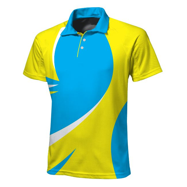 Sublimated Zuco golfer - Curve