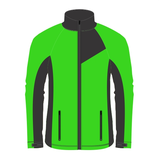Panelled Zuco softshell jacket - Blizzard