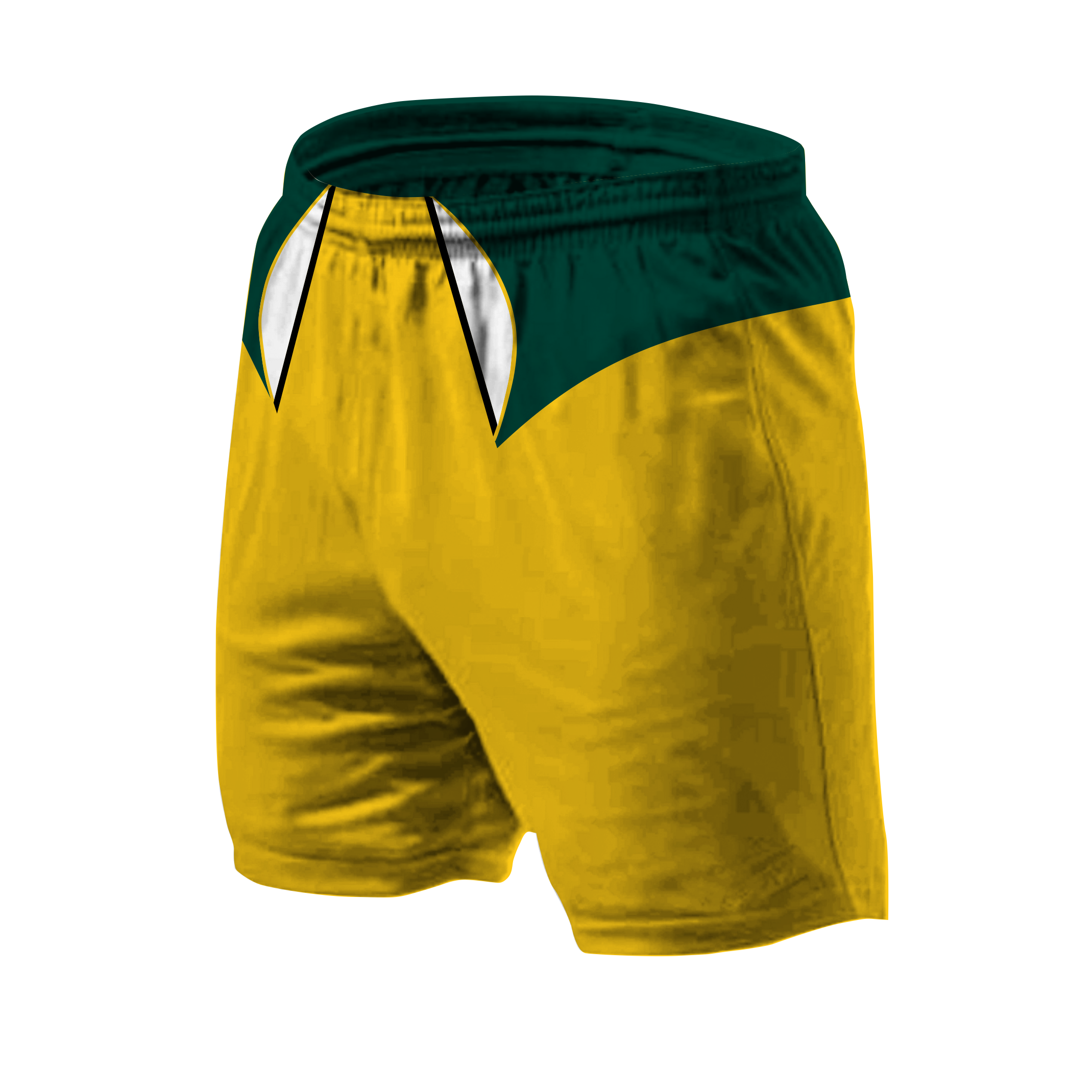 Panelled Zuco shorts - Mick