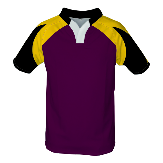 Panelled Zuco Rugby Jersey - Bismark