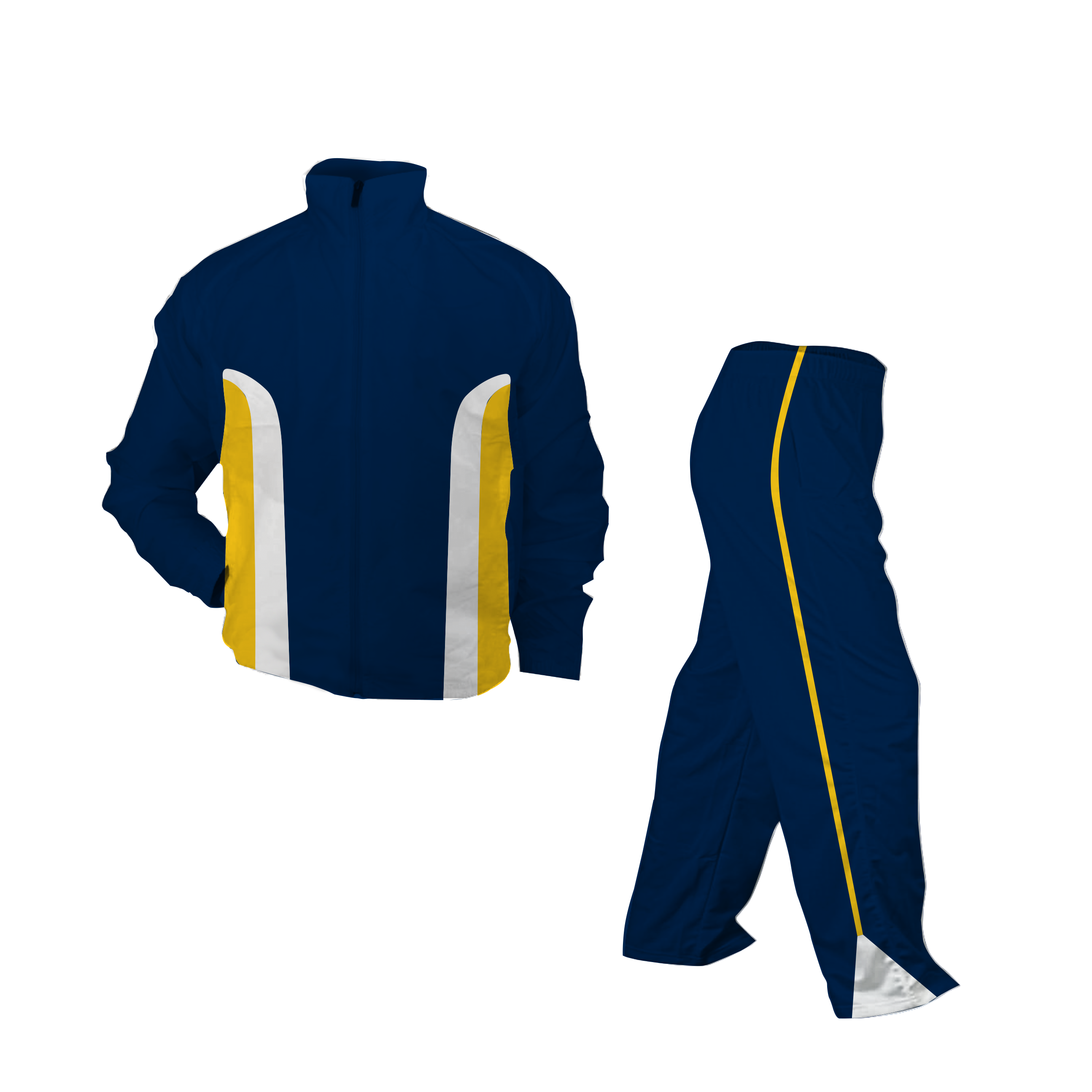 Panelled Zuco tracksuit - Andrew