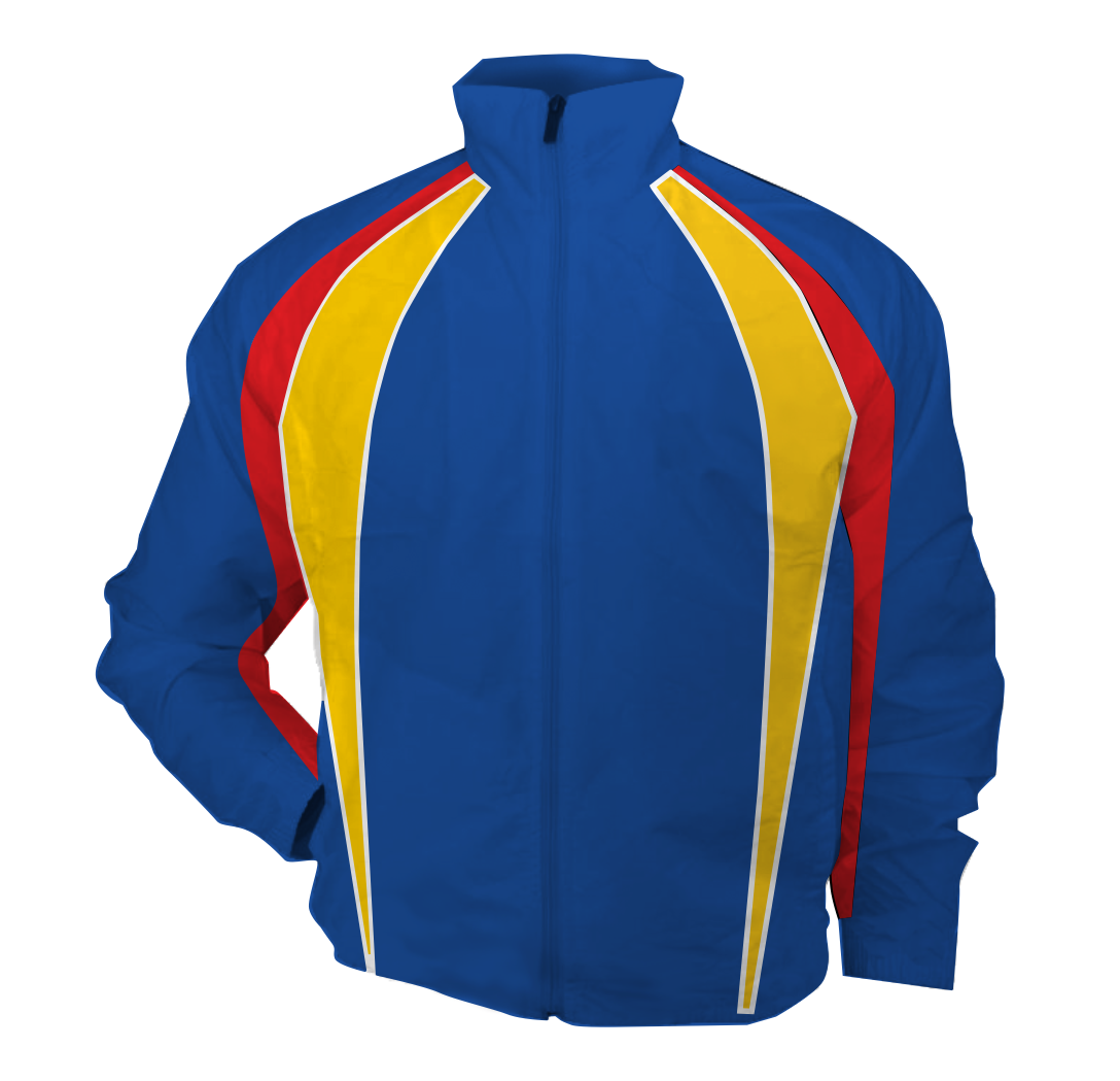 Panelled - bench jacket - Olympian