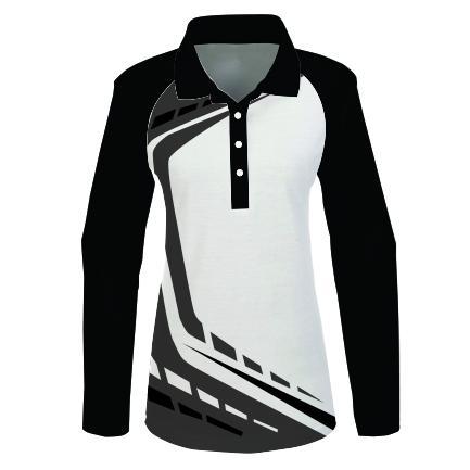 Golfer L/S Raglan Ladies – WARP