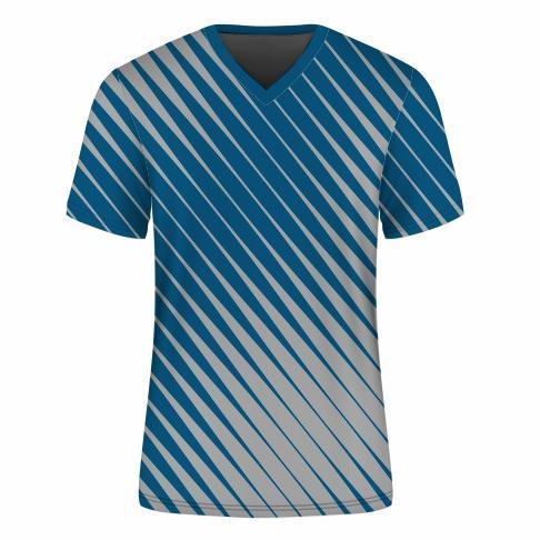T-Shirt V-neck Set-in Mens - SPEED