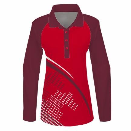 Golfer L/S Raglan Ladies - PACE