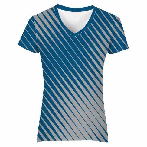 T-Shirt V-Neck Set-in Ladies - SPEED
