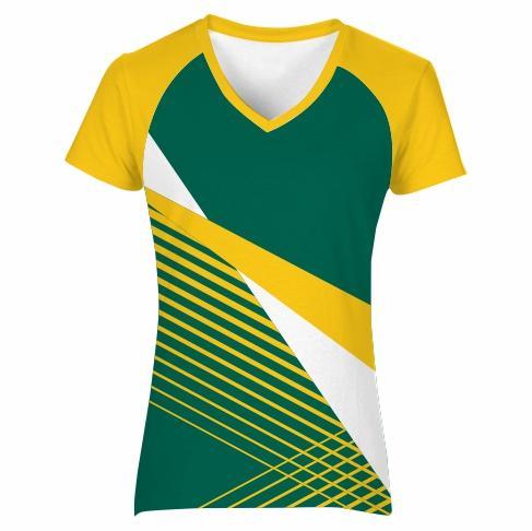 T-shirt V-neck Raglan Ladies - VISION