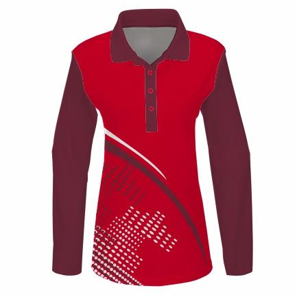 Golfer L/S Set-in Ladies - PACE