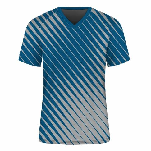 T-Shirt V-neck Raglan Mens - SPEED