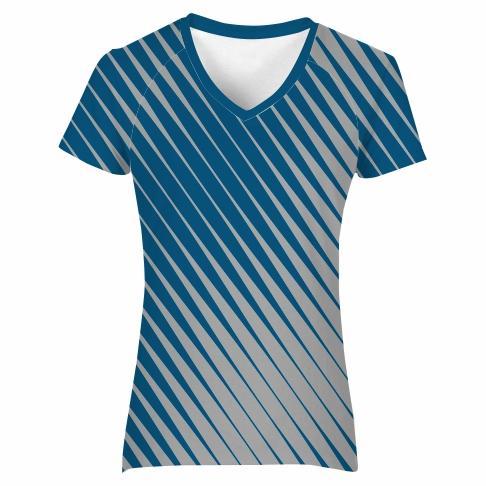 T-Shirt V-neck Raglan Ladies - SPEED