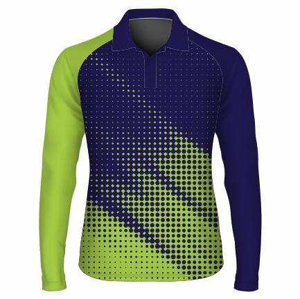Golfer L/S Raglan Mens - ENERGY