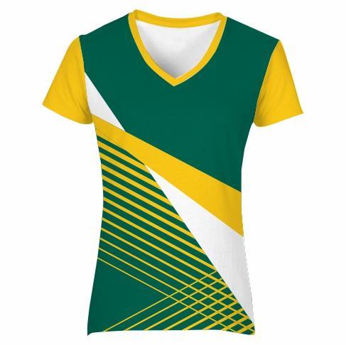 T-shirt V-neck Set-in Ladies - VISION