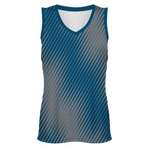 Hockey top vneck sublimated - Speed