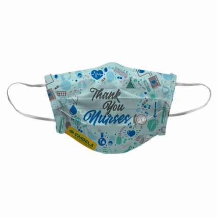NURSE VIMBELA - Thank You - 3 PLY (pack of 50) R 1,249.50 excl VAT - E-Mail your design to Rudik@xco.co.za should you wish to order.